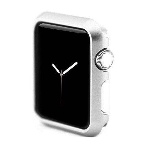 moodie Apple Watch 4-40mm Hülle Silber Aluminium Case Cover Bumper Schutzhülle für Apple Watch 4-40mm