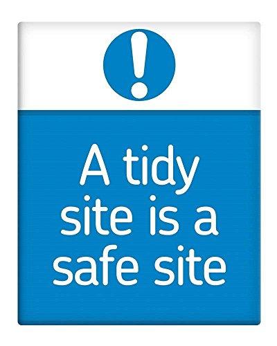 Berg67Pater einen aufgeräumten Website ist eine sichere Seite Schild Dekoration 20,3x 30,5cm Aluminium Metall blechschild Teller