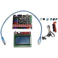 Lanceasy 3D Kit de impresión, para MKS Gen L 12864 LCD de Pantalla Entre en