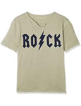 ZADIG&VOLTAIRE T-Shirt Col Tunisien, Camiseta para Niños