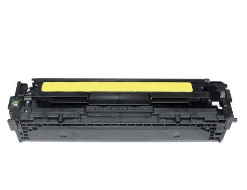 Eurotone Toner kompatibel non OEM 125A YELLOW remanufactured für HP CLJ CP 1210 1215 1217 1515 1518 - Color Laserjet Alternative ersetzt HP CB542A Gelb (Cb542a Remanufactured Toner Gelb)