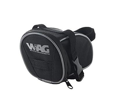 Wag Satteltasche MTB Dual Sockel seitlich A Clip und Klettverschluss (Taschen Schabracke)/Saddle Bag with Double Clip Mount and Velcro Strap (Wing Case)