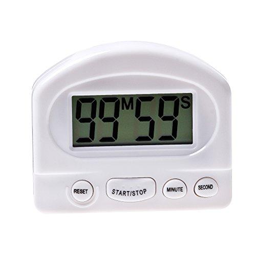 Digital Timer Küchen Timer mit großes LCD Display und Alarm laut Ring Timer ()