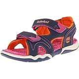 Timberland Active Casual Sandal FTK_Adventure Seeker 2 Strap Sandal, Unisex Kids Open Toe Sandals