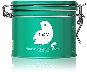 Løv Organic - Rooibos Verveine-Menthe - Boite Métal 100 g