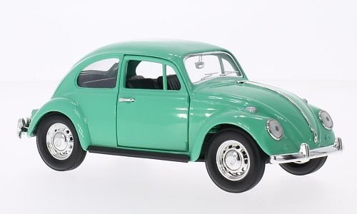 VW Käfer, hellgrün, 1967, Modellauto, Fertigmodell, Lucky Die Cast 1:24 (Vw Spielzeug Käfer)