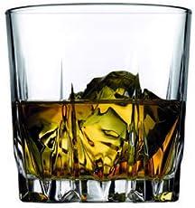 Pasabahce Karat Whisky Glass,300 ml,Set of 4