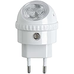 Osram Lunetta LED, a Spina, Plastica, Smerigliata, Bianco