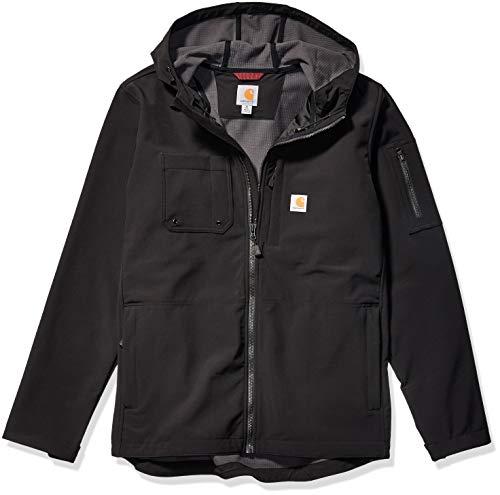 Carhartt Mens Hooded Rough Cut Cordura Nylon Work Jacket -