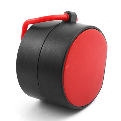 sourcingmap® Büro Hand Halter 5 Ziffern LCD Display Zähler Klick Ziehen schwarz rot - 2