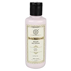 Khadi Herbal Rose and Honey Moisturizer, 210ml