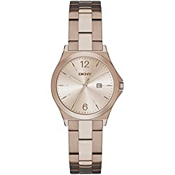 DKNY–Reloj de pulsera digital cuarzo acero inoxidable ny2368