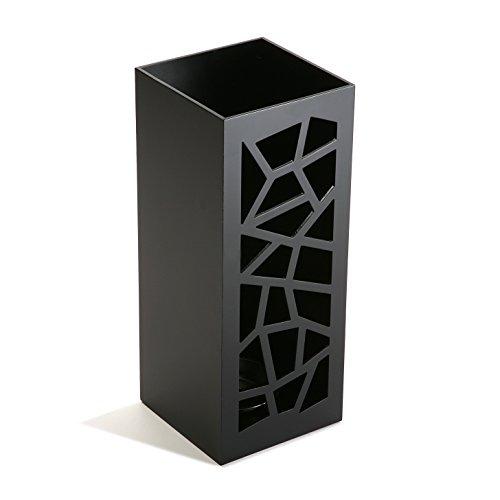 Versa portaombrelli nero geometric