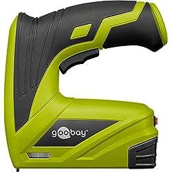 Goobay 55599, Grapadora inalámbrica, 40 Grapas por Minuto, Máximo 12 mm