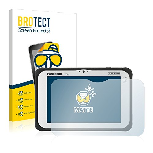 BROTECT Schutzfolie Matt für Panasonic Toughpad FZ-B2 Displayschutzfolie [2er Pack] - Anti-Reflex Displayfolie, Anti-Fingerprint, Anti-Kratzer