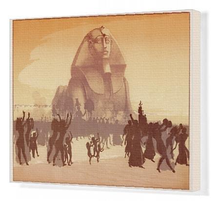 Canvas Print Of Sphinx - Sesostris Era