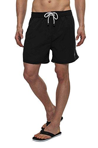 Smith & Jones Herren Badeshorts Swim Shorts Bademode Black