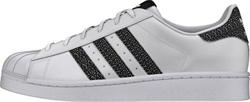 / ftwwht Adidas Superstar W - tomaia nera/ftwwht (multicolore)