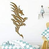 AiyoAiyo Flying Dragon Sticker Mural Amovible Stickers DIY Papier Peint pour Salon...