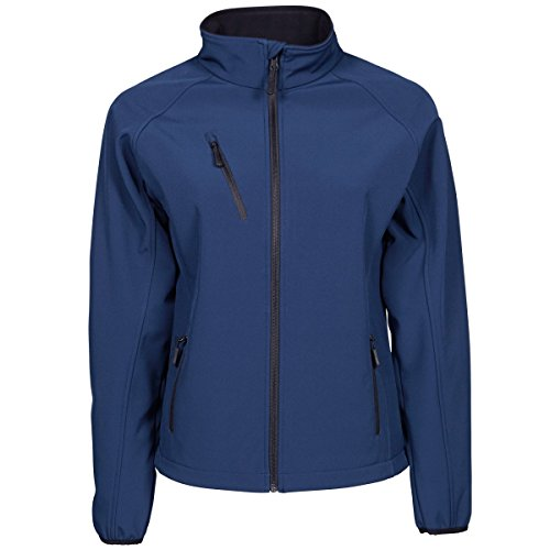 Tee Jays Damen Softshell Jacke Performance (S) (Indigo)