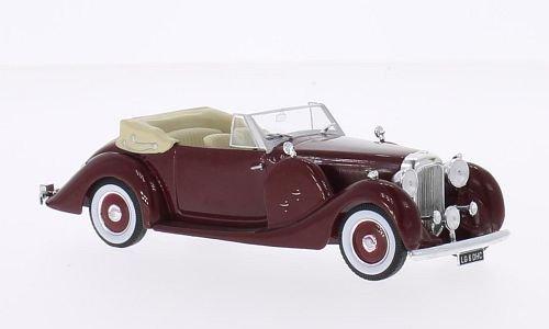 Preisvergleich Produktbild Lagonda LG 6 DHC, dunkelrot, RHD, 1938, Modellauto, Fertigmodell, WhiteBox 1:43