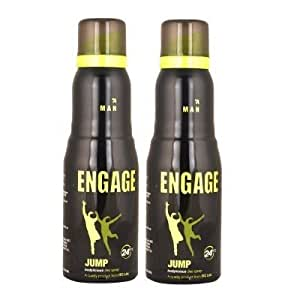 Engage Jump Deodorant for Men (Pack of 2) SF005 SF Wide Stone 49