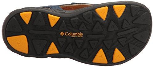 Columbia Youth Techsun Vent, Scarpe da Arrampicata Bambino Blu (Carbon, Super Solarize 469)