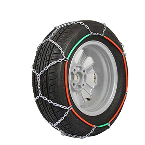 Auto Schnee Kette Anti-Slip Reifen Kette Winter Schnee Kette Notfallkette Geeignet für die meisten Automotive SUV LKW (größe : 215/45R17) (215 45r17 Winter Reifen)