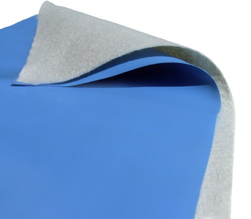 Blue Wave Challenger Oval Liner Pad 21 by 41-Feet grau -