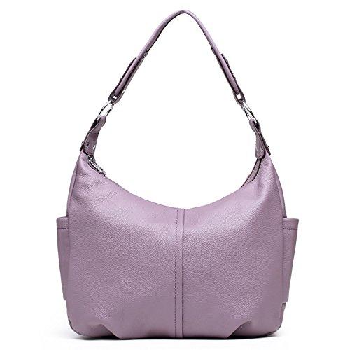 Chlln Die Erste Schicht Handtaschen Aus Leder Neue Mode - Freizeit - Tasche Handtasche Umhängetasche Leder - Tasche Violet