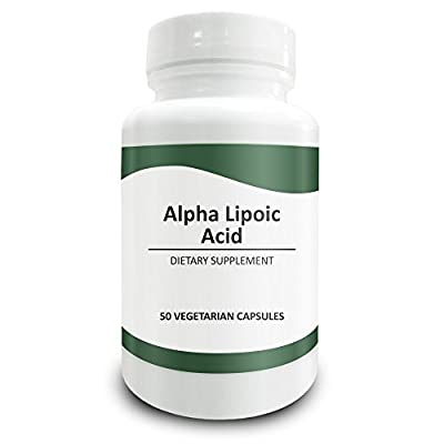 Pure Science Alpha Lipoic Acid 600 mg - Extra Strength Supplement Rich in Antioxidants for Cellular Health - Pure Alpha Lipoic Acid Powder in Vegan Capsule Form - 50 Vegetarian Capsules