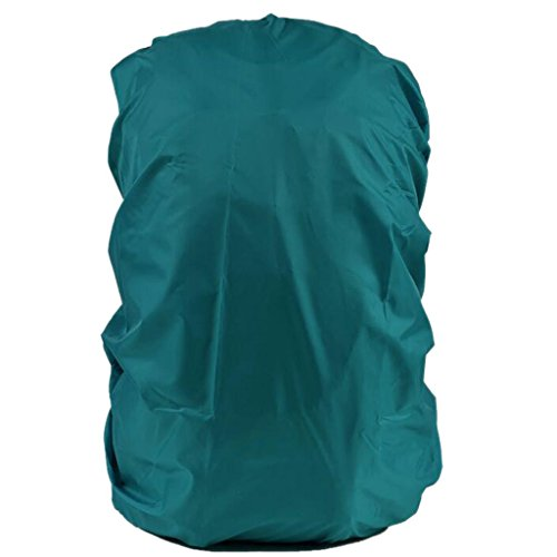 Imported Waterproof Travel Camping Hiking Backpack Dust Rain Cover - Peacock Blue  available at amazon for Rs.240