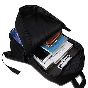 Mochila Escolar USAMYNA 3 Juegos para Niños Marshmello Youth 17-Inch Schoolbag Moda Práctica Mochila Escolar Adecuada…