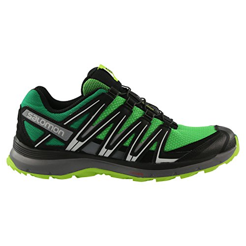 Salomon XA Lite chaussures trail Grün (Grey/Black/Lime Green)