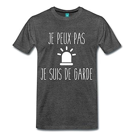 Je Peux Pas Je Suis De Garde T-shirt Premium Homme