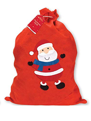 Giftmaker Collection Filzstiefel, Weihnachtsmann, Rot, 1 Stück