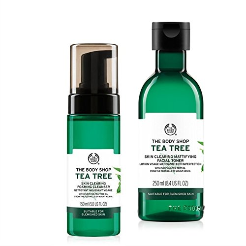 The Body Shop Tea Tree Cleanser 150ml+The Body Shop Tea Tree Toner 250ml