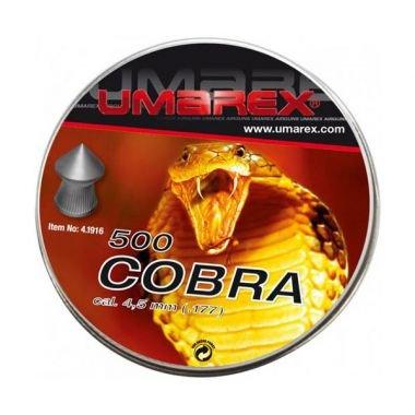 Umarex Diabolos 4,5mm für Pistole Druckluft Diabolo Cobra, superperforanti, Set 500