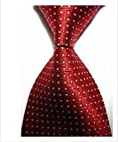 Best Home Fashion White Tie - EXT Collectino 100% Silk Necktie, New Classic Weave Review
