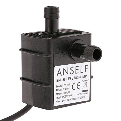 Se trata de una bomba de agua sumergible de tamaño compacto (no auto-prime). Se puede utilizar en línea o sumergido para el bombeo de agua. Está construido por un motor sin escobillas que proporciona un funcionamiento suave y silencioso que una bomba...