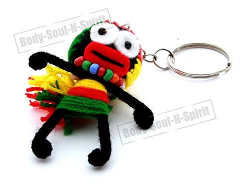 handmade-wool-string-voodoo-lovely-doll-key-ring-chain-lucky-charm-special-gift