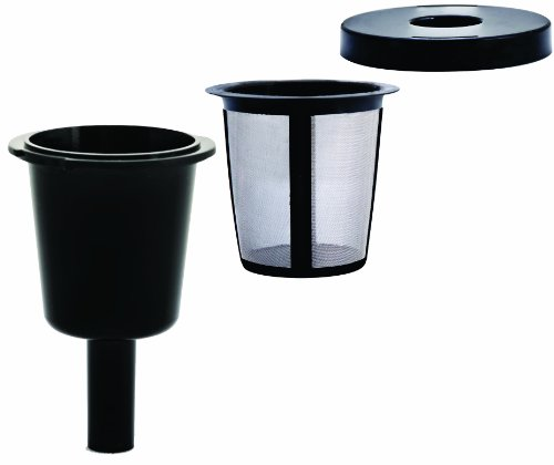 Medelco RK101 Universal Single Cup Coffee Filter System (Coffee Grinder Single Maker Cup)