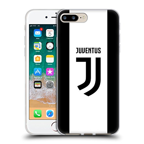 Head Case Designs Offizielle Juventus Football Club Home 2017/18 Race Kit Soft Gel Huelle kompatibel mit iPhone 7 Plus/iPhone 8 Plus - Soft Case Kit