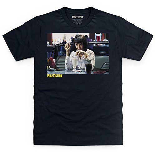 Official Pulp Fiction - Five Dollar Shake T Shirt, Male