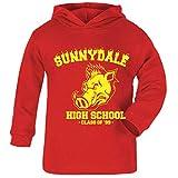 Cloud City 7 Buffy Inspired Sunnydale High School Baby and Kids Hooded Sweatshirt