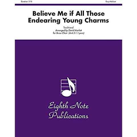 Believe Me If All Those Endearing Young Charms: Score & Parts - Musica Nota Charm