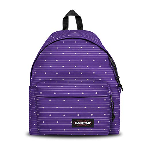 Eastpak Padded PAK'R Sac à Dos Loisir, 40 cm, 24 liters, Violet (Little Stripe)
