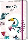 Meine Zeit 2020 - Taschenkalender (Farbenfroh) -