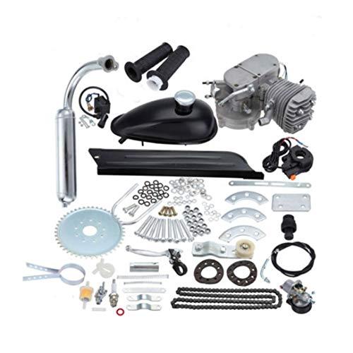 80cc 2 Räder Low Noise Heavy Duty Stahl Motorrad Schalldämpfer Motor Bike Motor Zubehör Set Low Vibration