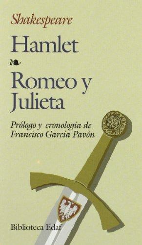 HAMLET / ROMEO Y JULIETA (Biblioteca Edaf nº 20) por WILLIAM SHAKESPEARE